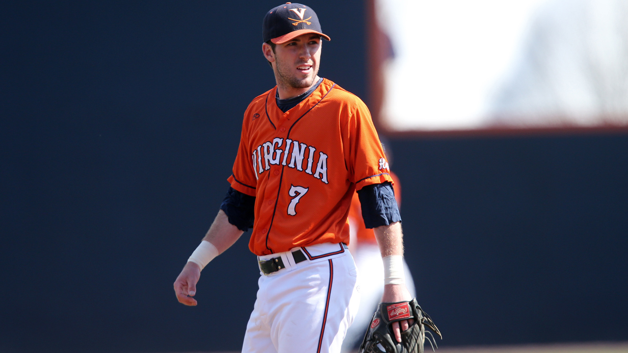 Virginia middle infielder Cogswell drafted by A's