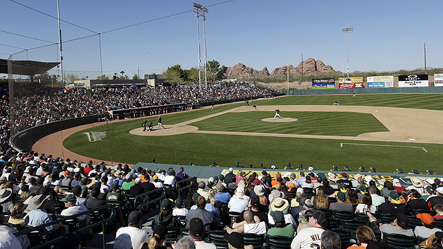 A's announce 20-year agreement with city of Mesa