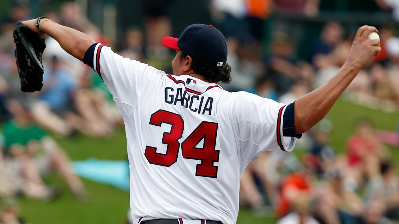 Garcia keeps up his perfect spring for Braves