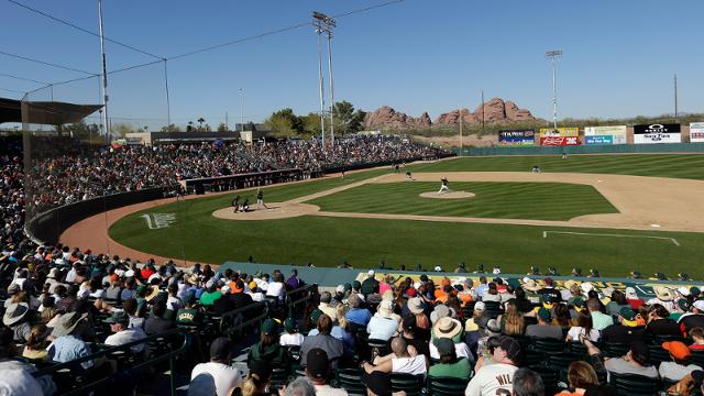 A's announce 2014 Spring Training schedule
