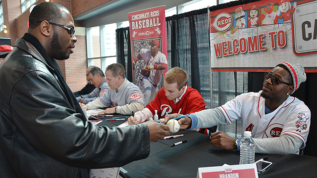 Phillips relishes chance to interact with Reds fans