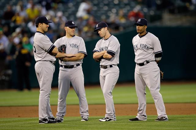 Standing Yankees