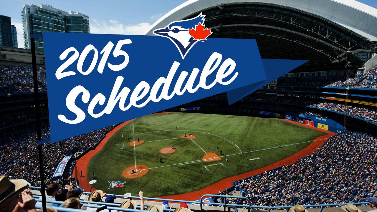 Blue Jays to open 2015 slate on road vs. Yankees