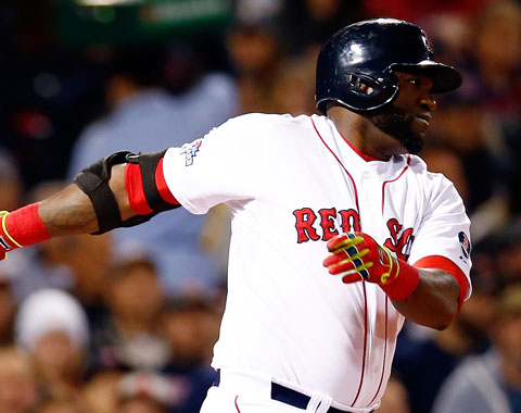 Ortiz iguala récord de Boston con 63 juegos en playoffs