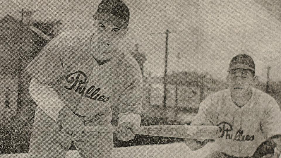 Phillies trained close to home during WW II