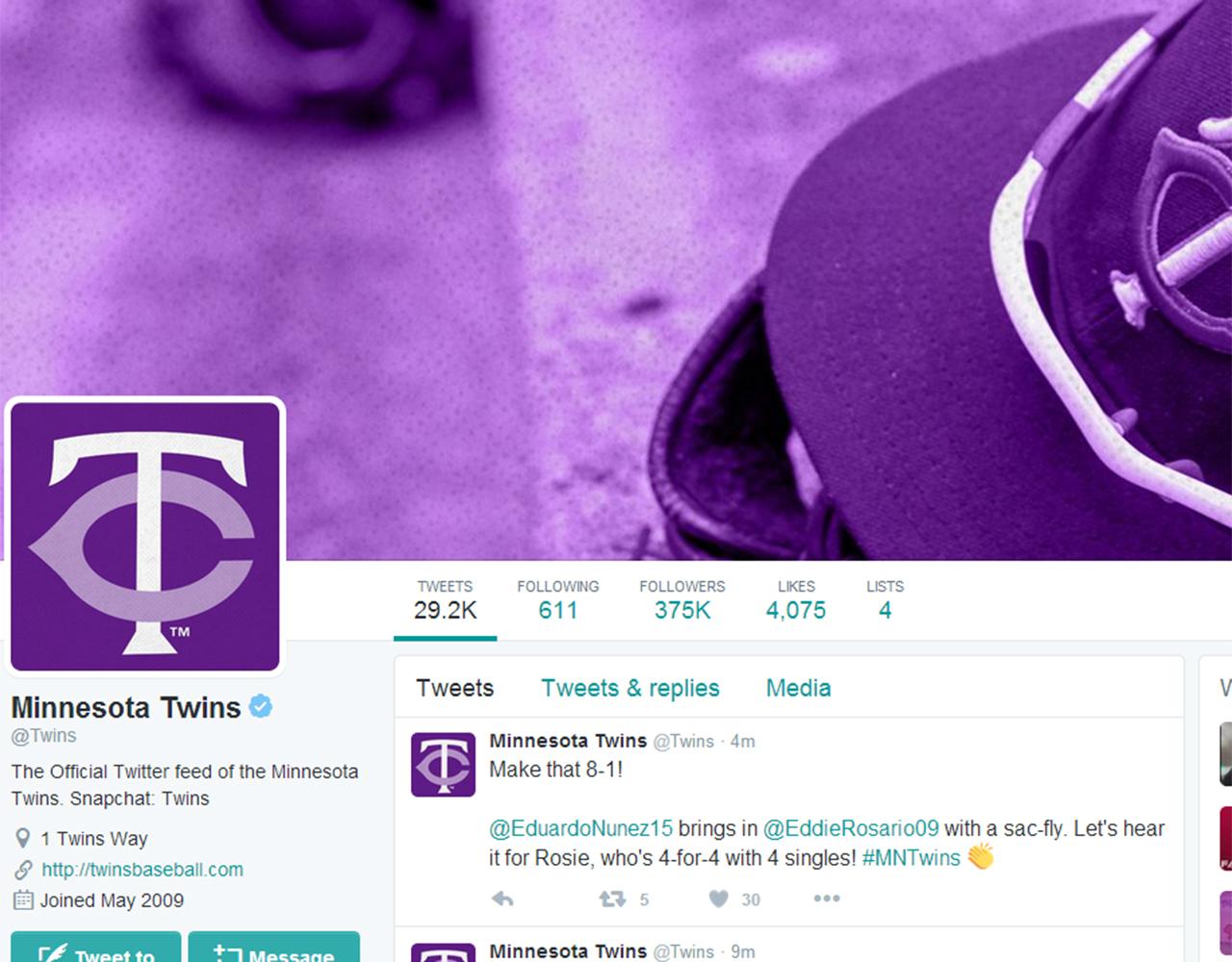 Twins Twitter