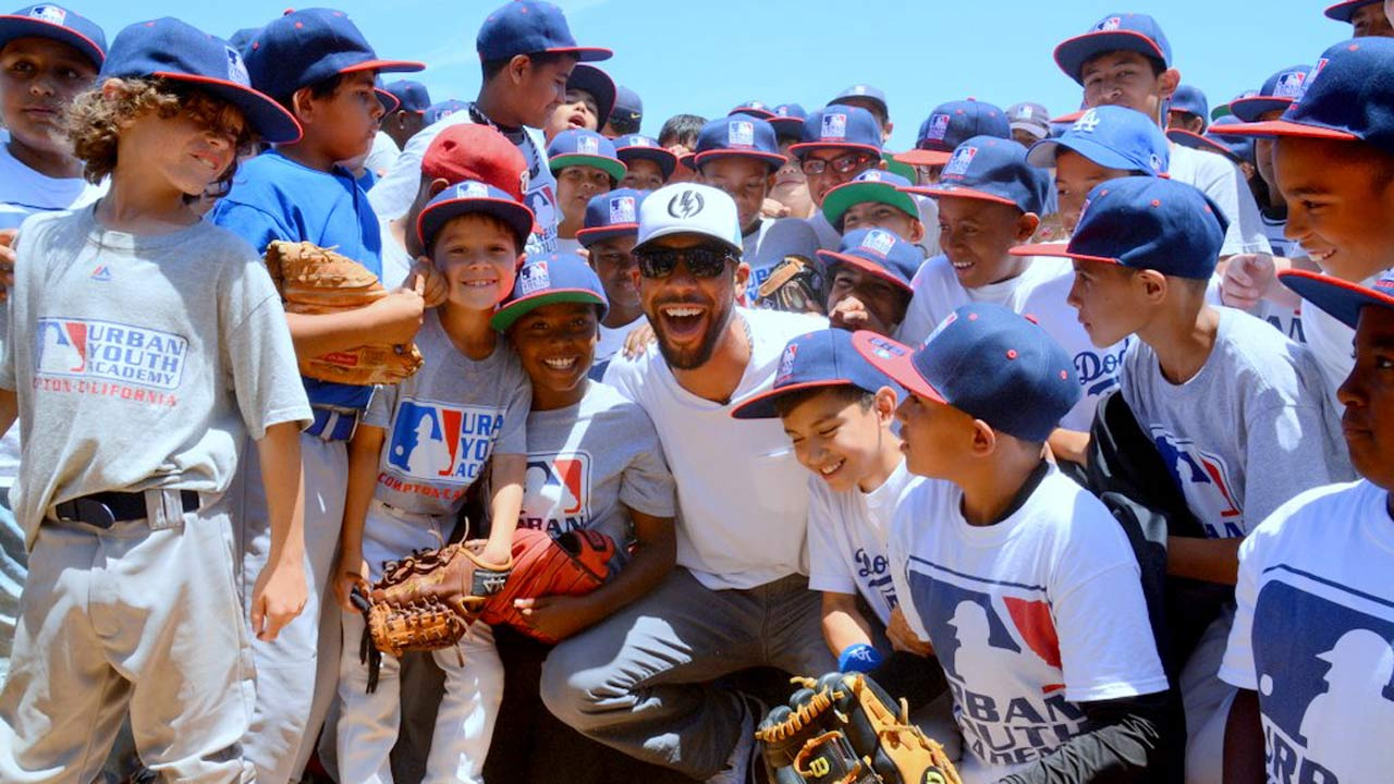 Price takes time to visit Urban Youth Academy
