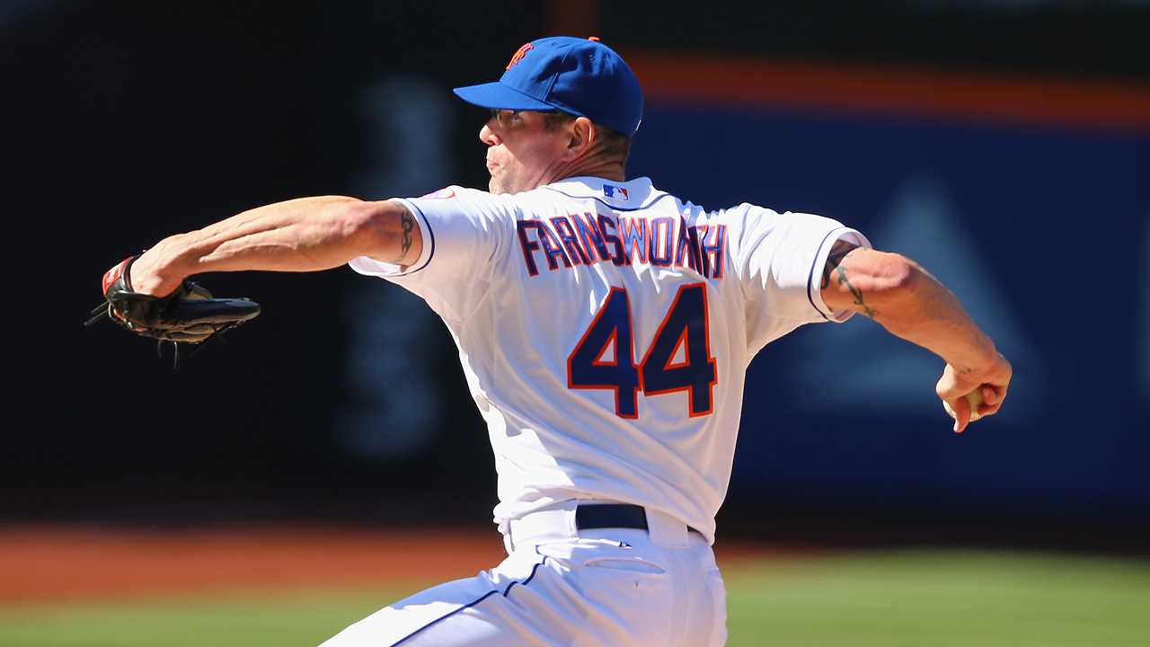 Valverde out, Farnsworth in as Mets closer