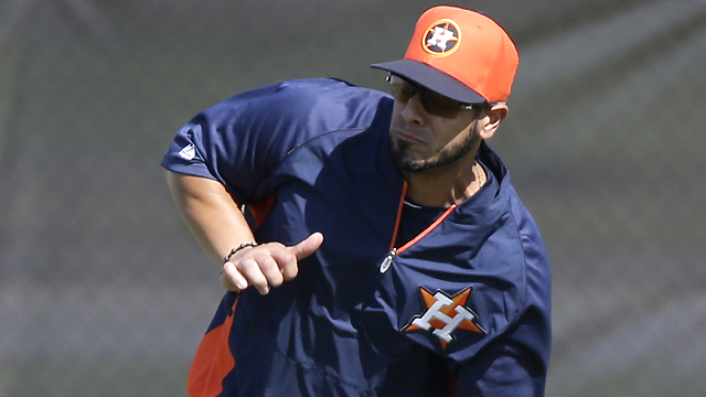 Astros' Martinez declines to comment on PED report