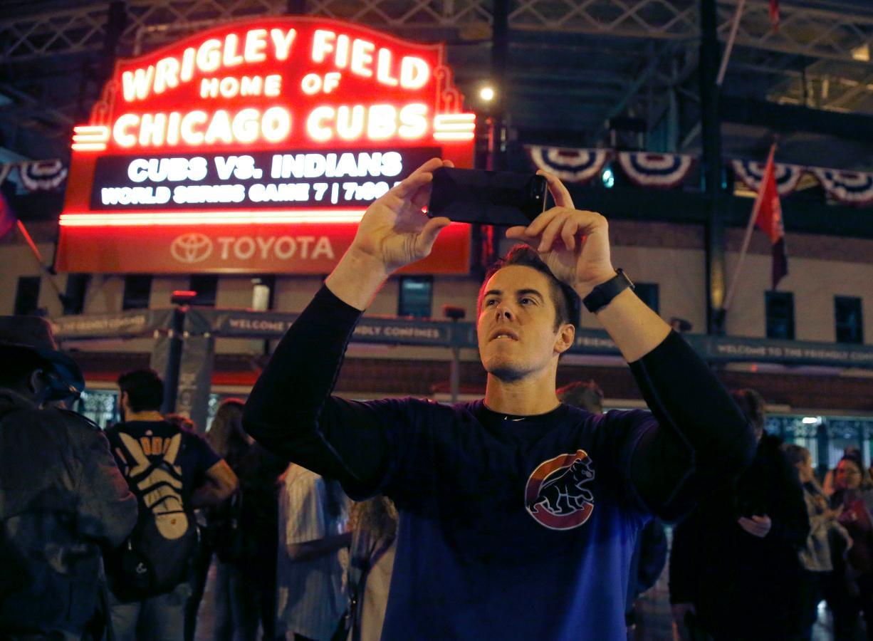 Witness Cubs fans in Wrigleyville and Progressive Field ...