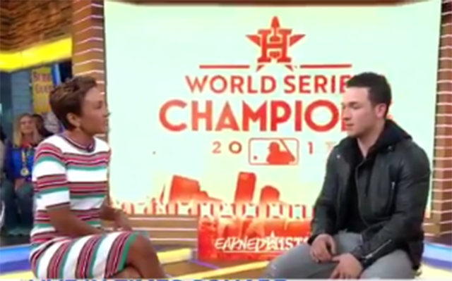 Good Morning America Email : Alex bregman discussed houstonstrong and the challenge of