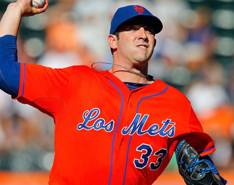 Matt Harvey a consultar con el Dr. James Andrews