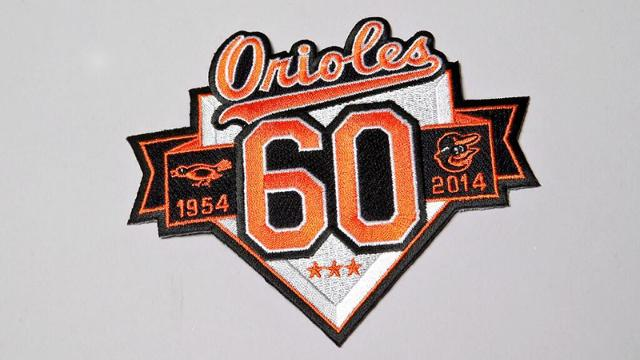 Orioles to celebrate 60th anniversary in 2014