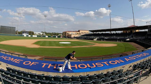 Astros, Nats interested in sharing new spring site