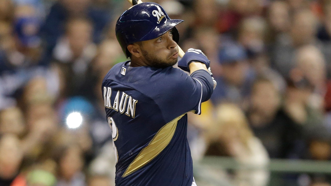Braun makes powerful return to Miller Park