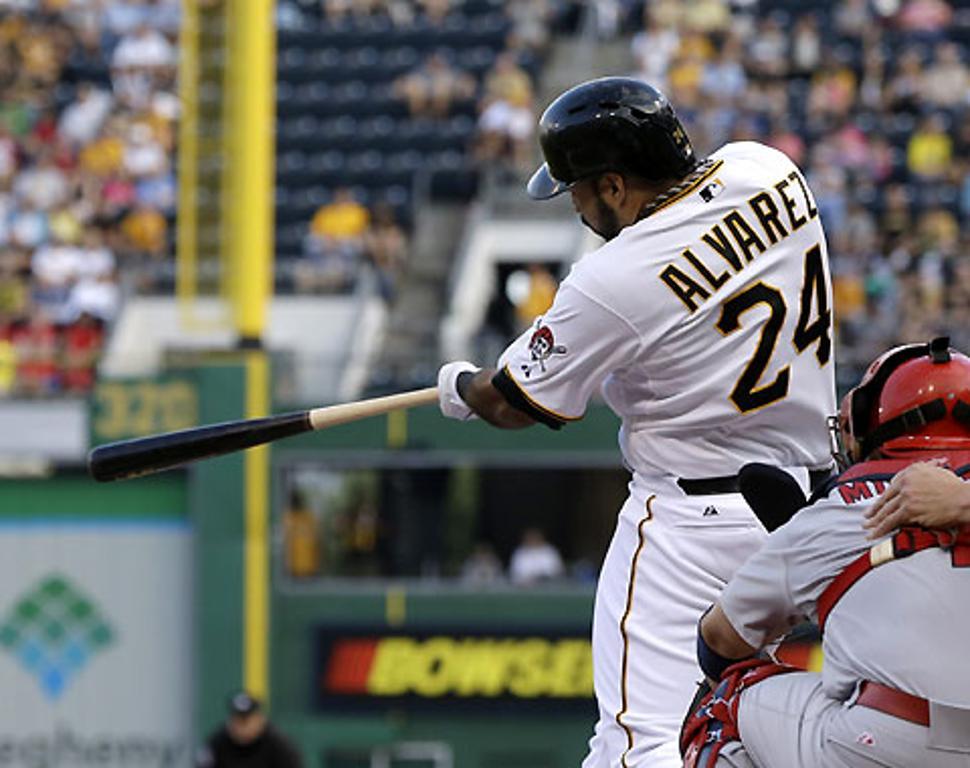 Alvarez se ve cada vez más pulido en Pittsburgh