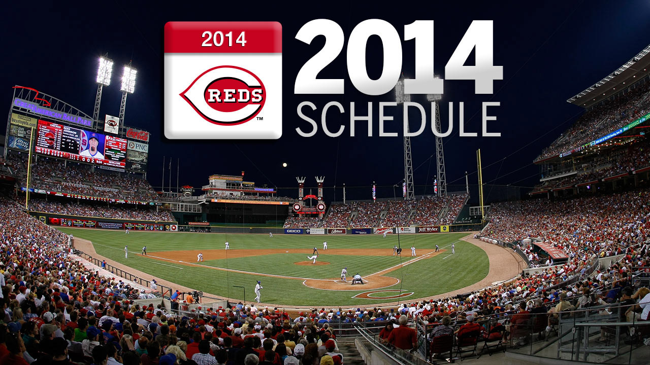 Reds' 2014 schedule opens against familiar foe