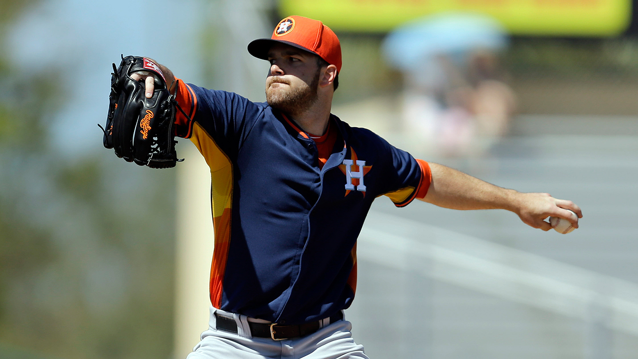 Astros begrudgingly send first pitcher to plate