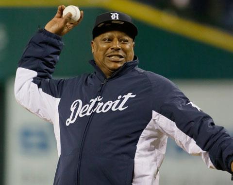 Lou Whitaker volvió a decir presente en Detroit