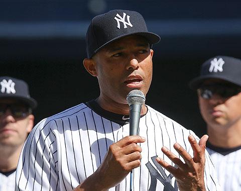 Yankees homenajean a Mariano Rivera en el Bronx
