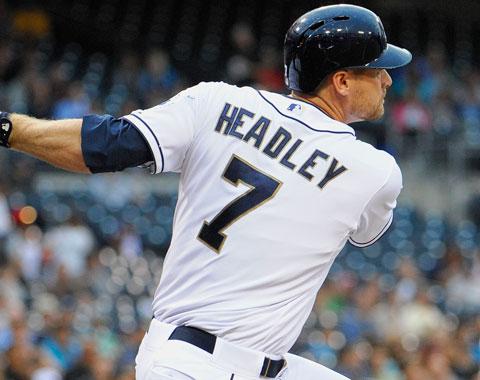 Chase Headley buscará mejorar su ofensiva