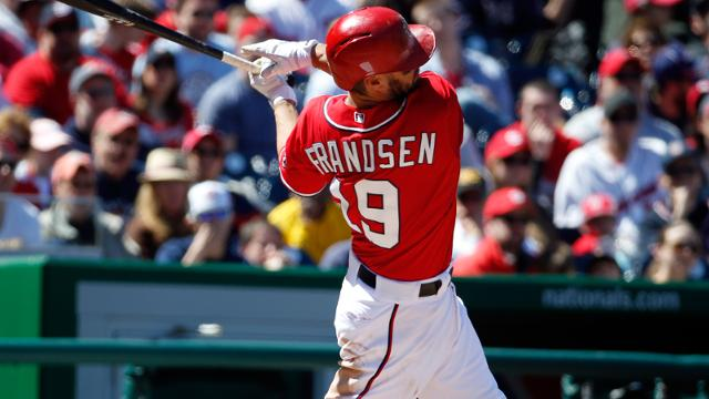 Versatile Frandsen fills valuable role for Nationals
