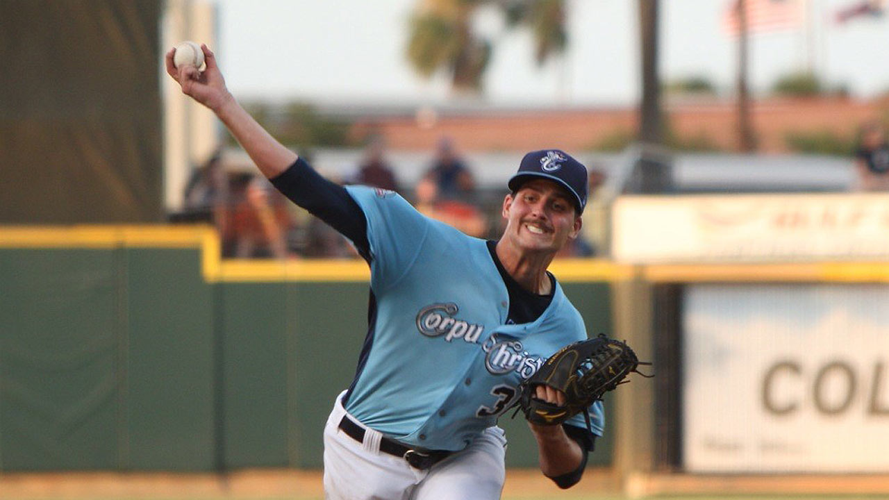 Appel tosses five scoreless frames in Double-A debut