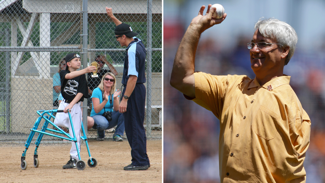 Dravecky an inspiration to 10-year-old pitcher