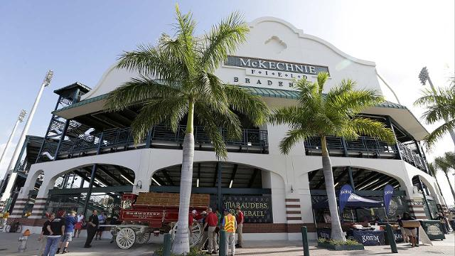 Pirates to open spring slate Feb. 26 vs. Yankees