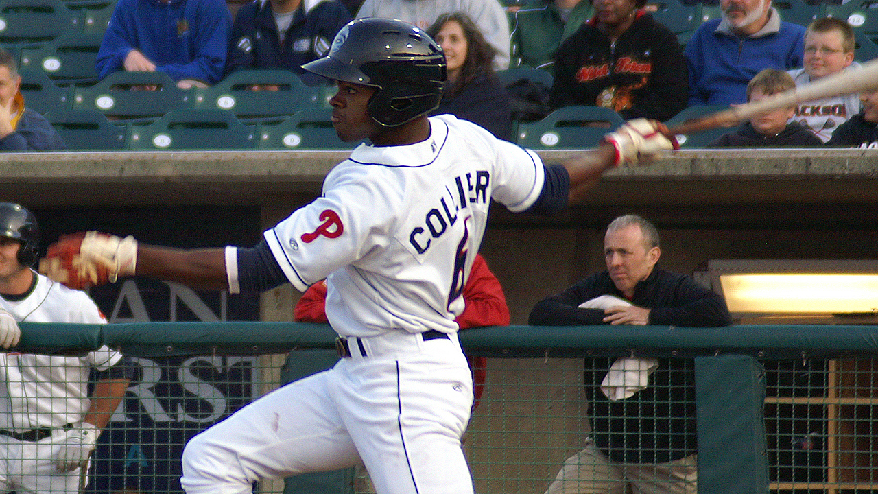 Collier outrighted to Double-A Reading