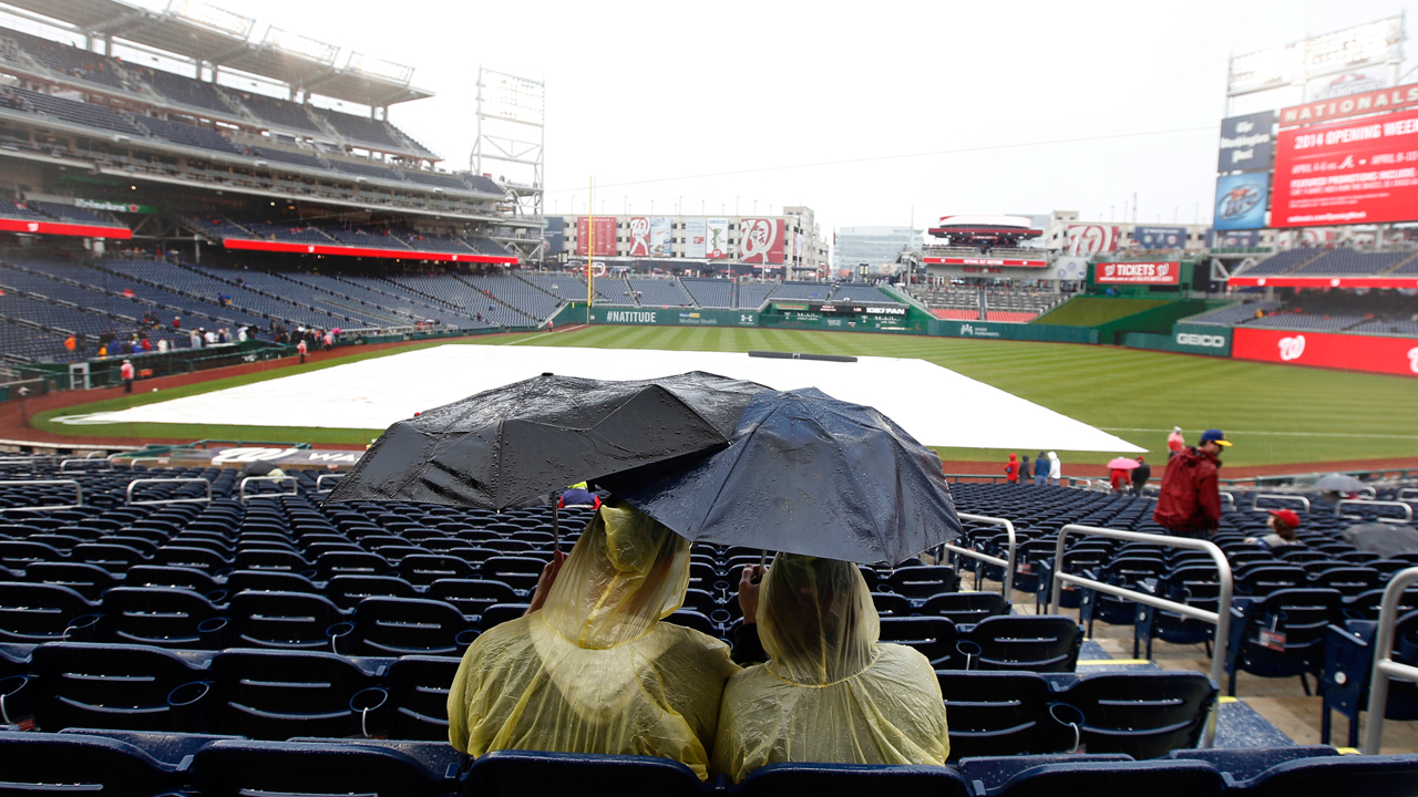 Nats rained out Tuesday, no makeup date scheduled