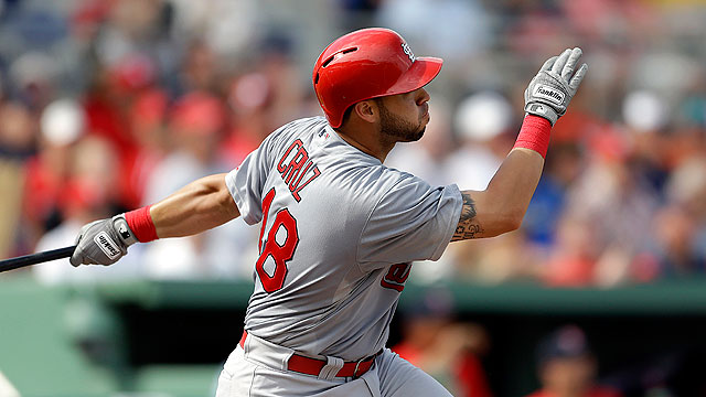 Cruz's three-run double sparks Cardinals