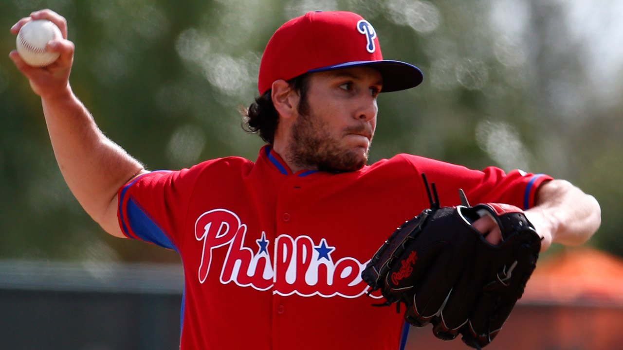Phillies release right-handed reliever Stutes