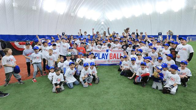 The PLAY BALL event attracted more than 350 participants at Stade Canac on Saturday.