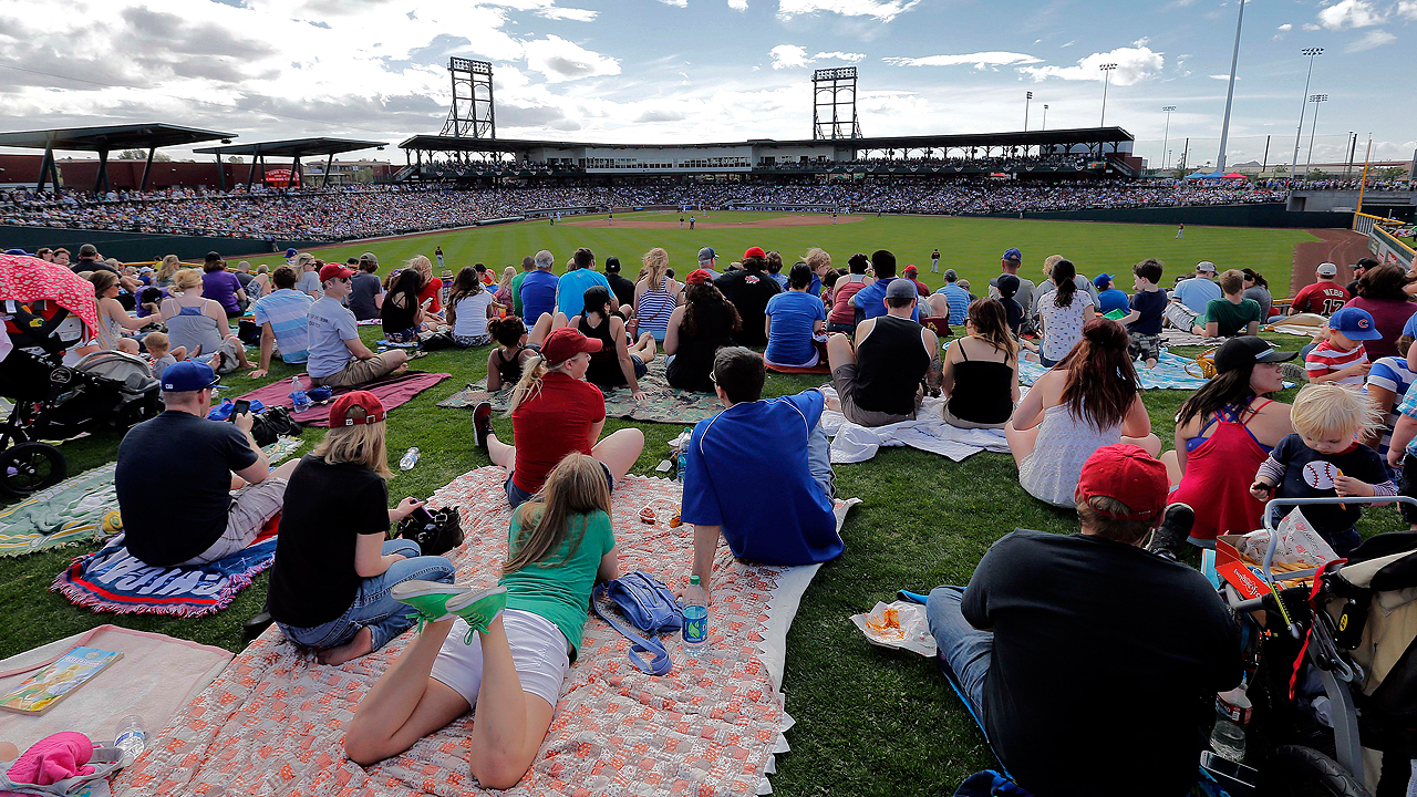 MLB enjoys record-setting spring in attendance