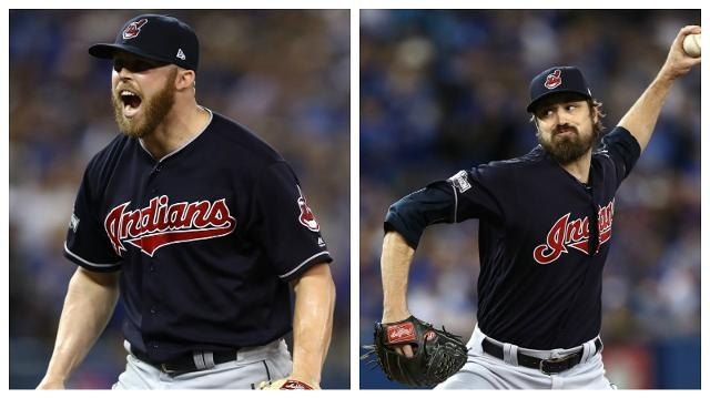 Image result for andrew miller and cody allen