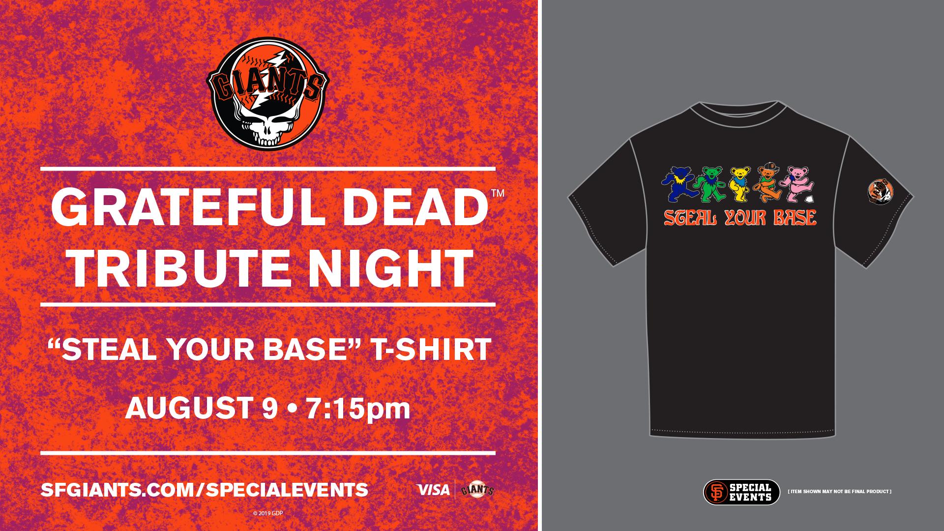9fd9d8c6 SPECIAL EVENT: Grateful Dead Tribute Night   San Francisco Giants