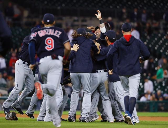 Indians wrap up AL Central title