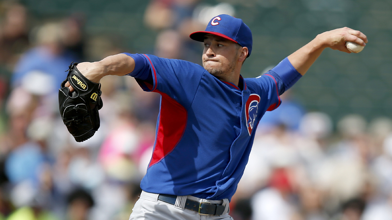 Rotation-hopeful Rusin tames Mets in Vegas