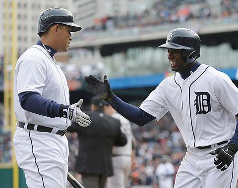 Cabrera y Jackson, co Jugadores de la Semana L.A.
