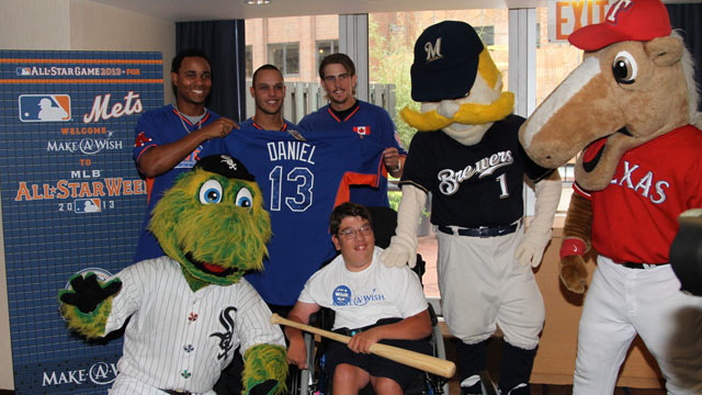 Make-A-Wish children receive All-Star treatment