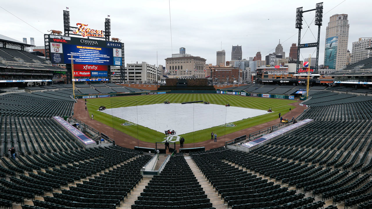 Rain postpones Tigers-Royals finale in Detroit