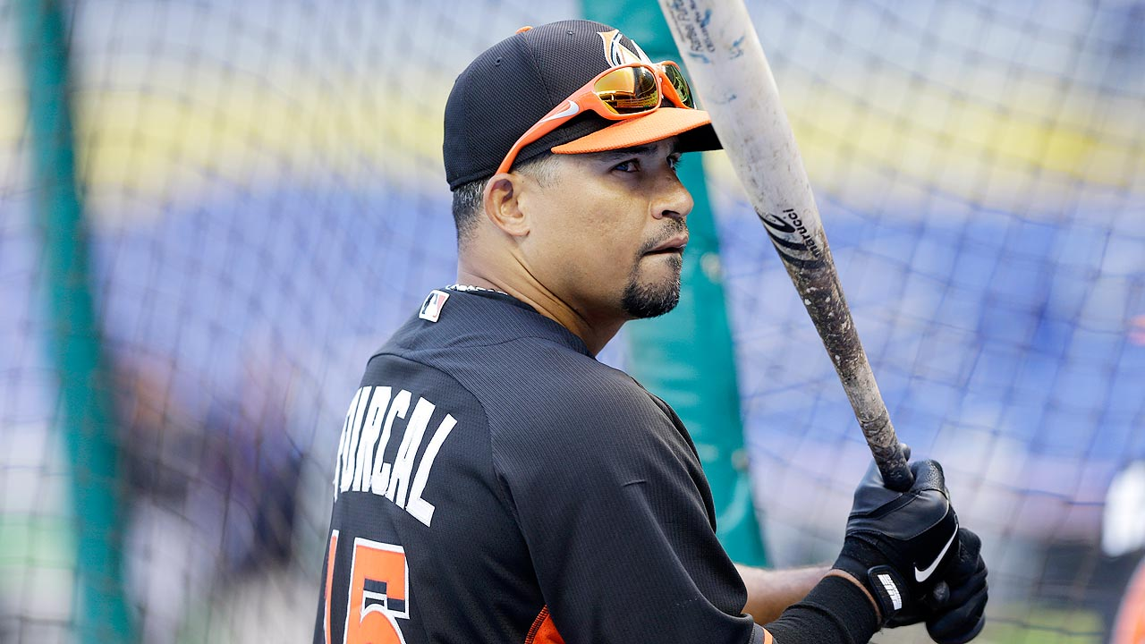 Furcal strains groin; Marlins hopeful it's not serious