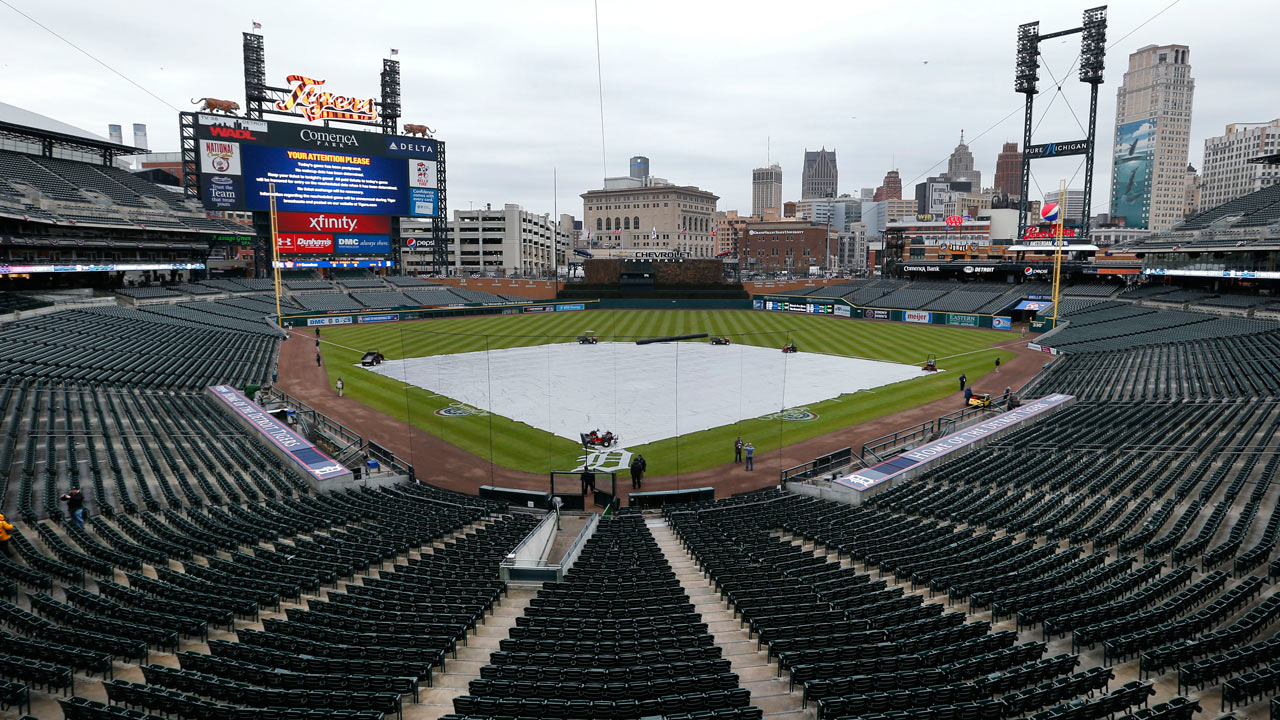 Royals' series finale vs. Tigers rained out