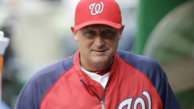 Nats put finishing touches on coaching staff