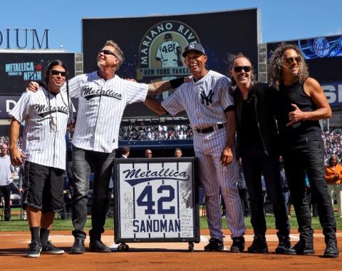 Bajista del grupo Metallica elogia a Mariano Rivera