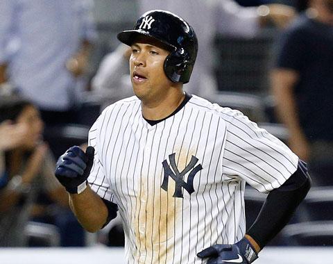 A-Rod fue incluido en la alineación de los Yankees