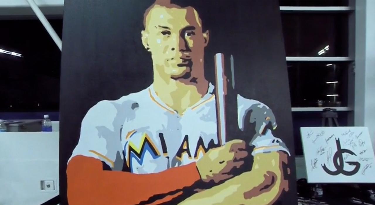 Giancarlo painting