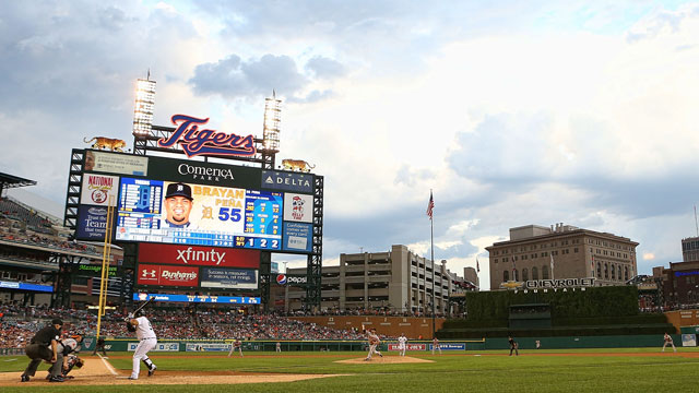 Tigers fan chronicles Comerica Park experience