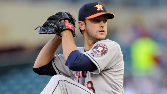 Astros' Cosart all about enjoying holiday season